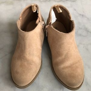 Old Navy Girls Boot Suede 9M